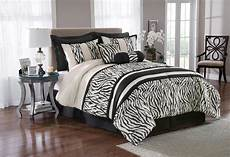 zebra print bedroom the great find 8 zebra print bedding set