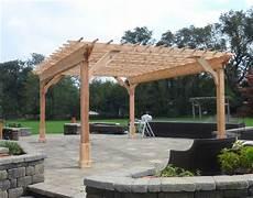 customer s photo custom 12 cedar 2 beam pergola