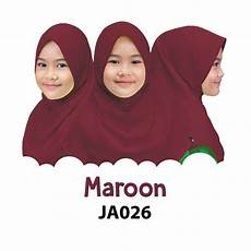 Afrakids Jilbab Anak jilbab anak afrakids maroon tokoafra