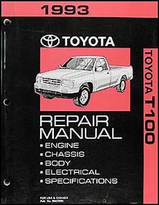 how to download repair manuals 1998 toyota t100 user handbook 1993 toyota t100 repair shop manual original