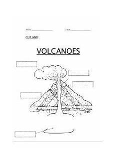 label the volcano worksheet homeschool ideas pinterest volcano worksheet science