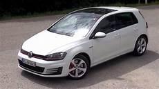 golf 7 gti 2015 vw golf 7 gti performance 230 hp test drive