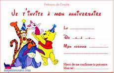 carte d invitation enfant theme anniversaire