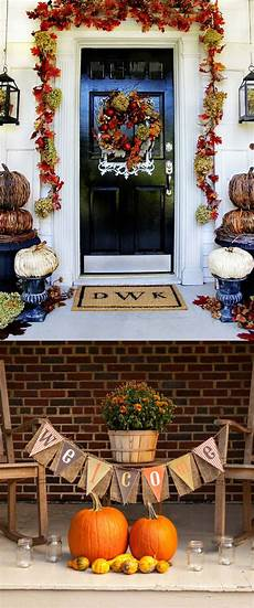 Decorations Outdoor Diy by 25 Splendid Diy Fall Outdoor Decorations A Of Rainbow