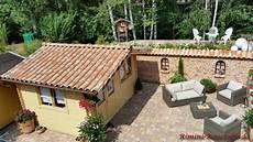 Gartenhaus Mediterranen Stil - teja curva farbe viellja castilla