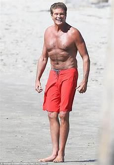 David Hasselhoff Wears Shorts Alongside The
