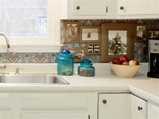 How To Make A Kitchen Backsplash Diy Budget Backsplash Project How Tos Diy