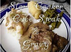 cube steak in gravy  slow cooker_image
