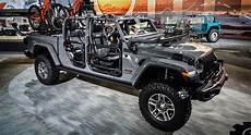 gladiator surpasses the wrangler as mopar s most accessorized jeep carscoops
