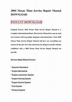 2004 nissan titan service repair manual download 2004 nissan titan service repair manual download