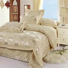 piumoni matrimoniali eleganti luxury jacquard bedding set silk 4pcs satin bedclothes bed