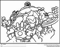 avengers coloring pages for kids coloring pages