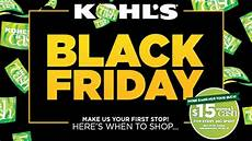 black friday 2018 kohl s black friday 2018 deals preview ad release date