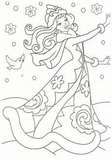Gratis Malvorlagen Prinzessin Malvorlagen Gratis Winter Coloring And Malvorlagan