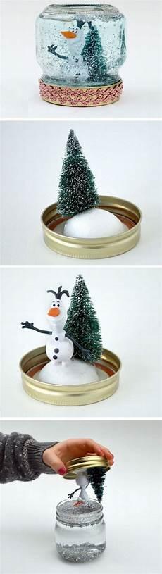 weihnachtsdeko selbst machen schneekugel selber machen diy weihnachten