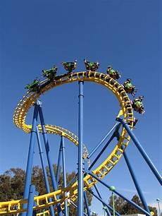 Loop Roller Coaster Yellow Loop