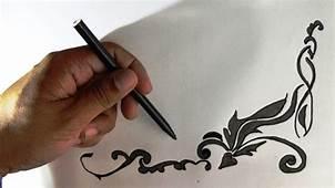 How To Draw Creative Art Border  YouTube