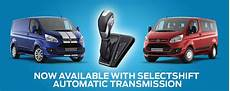 the all new ford transit custom selectshift automatic