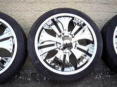 chrome spinners 17 in action for sale youtube