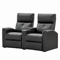 2 sitzer sofa ebay nuovoform sofa weddell 2 sitzer kunstleder schwarz