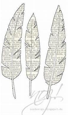 federn zum ausdrucken toll buchseiten papierfedern
