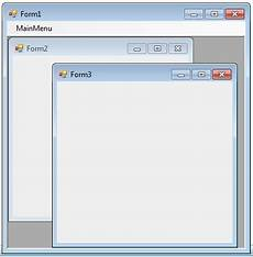 visual basic dot net code mdi form in vb net