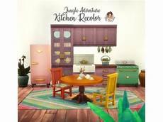 Kitchen Adventure by Jungle Adventure Kitchen Recolor Los Sims 4 Descarga