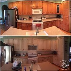 Kitchen Transformations Before And After by Before And After Rustoleum Cabinet Transformation