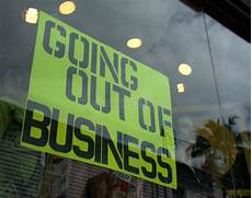 Going Out Of Business Stock Photography Image 8511862