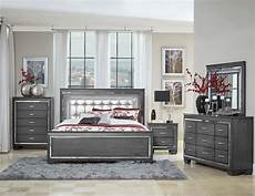 One Bedroom Sets by Homelegance Grey Allura Bedroom Set 1916gy 1 Savvy