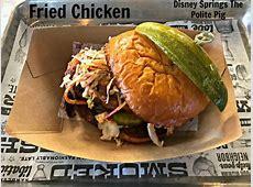 The Polite Pig Menu   Disney Springs at Walt Disney World