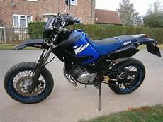Yamaha Dt125r Sm Blue Black 2004 Dt125 Supermoto