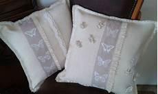 tappeti shabby chic on line tessili e tappeti cuscini shabby chic in tela di lino