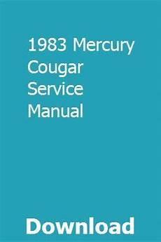 service repair manual free download 1991 mercury cougar on board diagnostic system pin on olenhogi