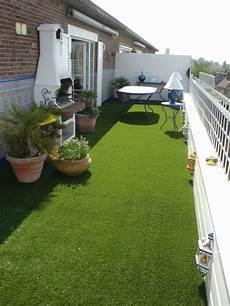 Kunstrasen Rasen Deluxe Auf Einem Gro 223 En S 252 D West Balkon