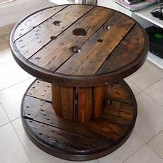 table basse bobine bois bobine en bois table basse mobilier design d 233 coration d