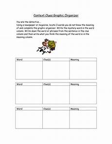 best images of context clues worksheets printable vocabulary word graphic organizer