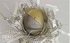 diy osterdeko mit ostereiern aus beton deko kitchen