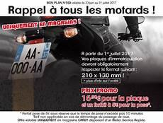 Plaques D Immatriculation Moto Plus Que Quelques Jours