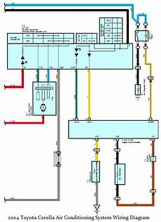 Delica Aircon Wiring Diagram by Wiring Diagrams 2004 Toyota Corolla Air Conditioning
