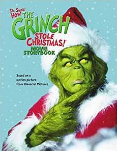 Grinch Malvorlagen Novel How The Grinch Stole Storybook Louise