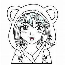Ausmalbilder Anime Jungs Ausmalbild M 228 Dchen Mit Schmetterling Kostenlos Zum
