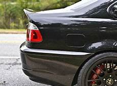 bmw e46 m3 2 door rear boot wing spoiler csl style carbon