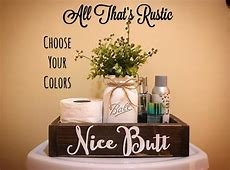 Nice **** Box Nice **** Bathroom Decor Bathroom Humor   Etsy