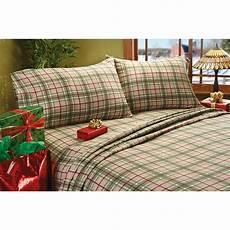 plaid bed sheets braeden plaid flannel sheet set 209128 sheets at