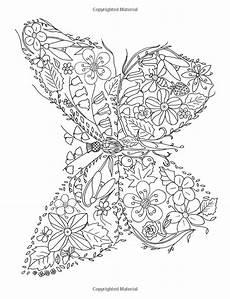 Ausmalbilder Blumen Und Tiere Flower Colouring Book 9781908072917