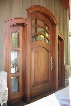 hand crafted craftsman mountain home doors by appwood