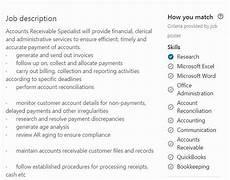 23 accounts receivable description resume resume exles good resume exles