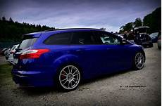 ford focus st mk3 blue color big rims samochody