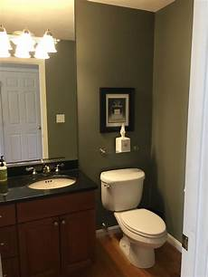 windowless powder room color